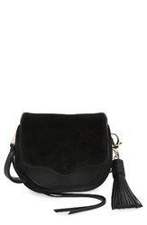 Rebecca Minkoff Mini Suki Crossbody Bag Black Black Light Gold Hardware
