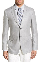 Men's Jack Spade Trim Fit Herringbone Silk Sport Coat