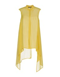 Carla Montanarini Shirts Yellow