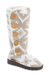 Women's Muk Luks 'Malena' Sweater Knit Boot 1 1 4' Heel