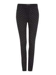 Biba Fully Embellished Skinny Jean Black