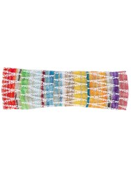 Missoni Mare Striped Headband White