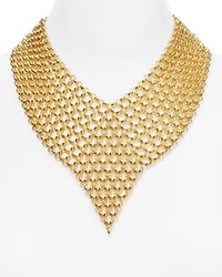 Jules Smith Designs Jules Smith Interlinked Statement Necklace 15 Yellow Gold
