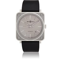 Bell And Ross Brs 92 Watch Gray