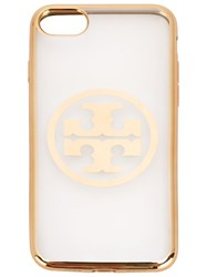 Tory Burch Softshell Iphone 7 Case Metallic
