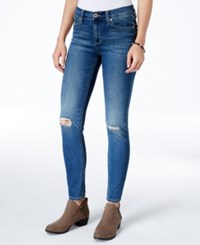 Lucky Brand Brooke Ripped Canyon Park Wash Jeggings