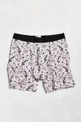 Urban Outfitters Tattoo Print Boxer Brief Pink