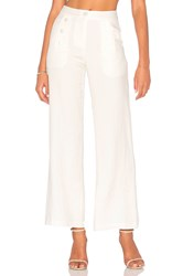 Blaque Label High Waisted Pant White