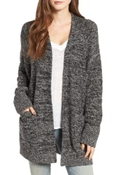Treasure And Bond Women's Elbow Patch Cardigan