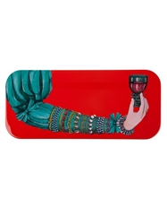 Fornasetti 'Gass Col Red' Trey