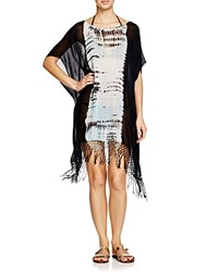 Gypsy05 Sand Gypsy05 Tie Dye Easy Poncho Swim Cover Up Inshore Turquoise