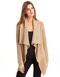 Kenneth Cole Sabrina Sparkle Cardigan Camel