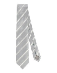 Luigi Borrelli Napoli Accessories Ties Men Light Grey