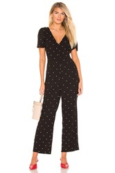 Amuse Society On The Bright Side Jumpsuit Black