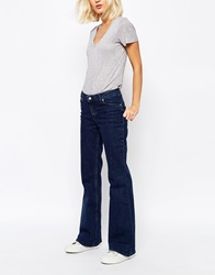 Weekday Femme Loose Hipster Flare Jean Bluematch