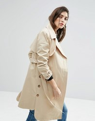 Asos Mac With Side Splits And Step Hem Stone