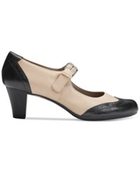 Aerosoles Shoreline Pumps Women's Shoes Black Combo