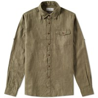 Barbour Cove Shirt Green