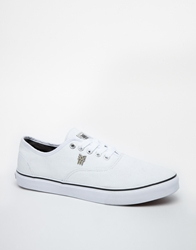 Fenchurch Plimsolls White