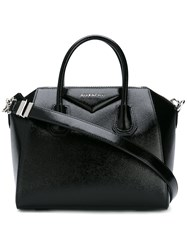 Givenchy Small Antigona Tote Bag Women Patent Leather One Size Black