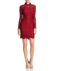 Betsey Johnson Lace Dress Red