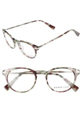 Derek Lam Women's 48Mm Glasses Green Tortoise