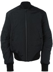 Barbara I Gongini Classic Bomber Jacket Black