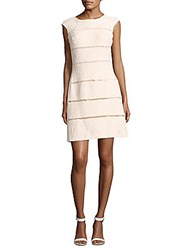 Jax Lace Cap Sleeve Sheath Dress Ivory