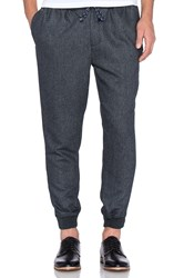 Scotch And Soda Woolen Chino Pant Charcoal