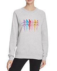 Alternative Apparel Stand Up To Breast Cancer Sweatshirt Eco Oatmeal Graphic