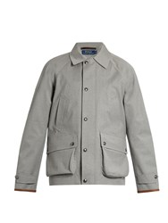 Polo Ralph Lauren Water Resistant Wool Coat Grey