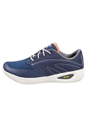 Hi Tec Hitec Vlite Rio Quest Walking Trainers Navy Warm Grey Burnt Orange Dark Blue