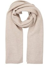 Barneys New York Knit Oversized Scarf Nude