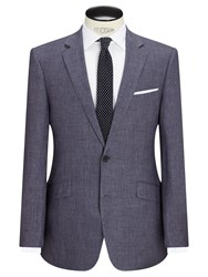 John Lewis Linen Regular Fit Suit Jacket Slate