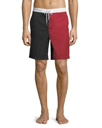Moncler Gamme Bleu Mare Boxer Swim Trunks Bright Red