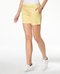 Tommy Hilfiger Hollywood Shorts Created For Macy's Sunshine