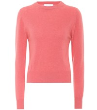 Ryan Roche Cashmere Sweater Pink