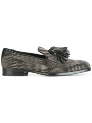 Jimmy Choo 'Foxley' Slippers Black