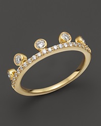 Khai Khai Diamond Crown Ring In 18K Yellow Gold 0.45 Ct. T.W.