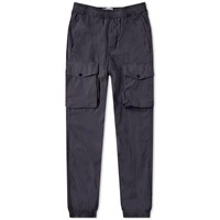 Stone Island 4 Pocket Patch Logo Cargo Pant Blue