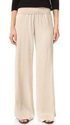 Atm Anthony Thomas Melillo Pull On Palazzo Pants Almond