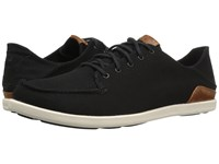 Olukai Manoa Black Mustard Men's Shoes Multi