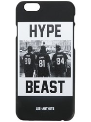 Les Artists Art Ists 'Hypebeast' Iphone 6 6S Phone Case Men Plastic One Size Black