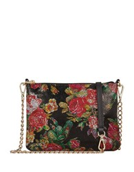 Lodis Emily Leather Convertible Clutch Multi Colored