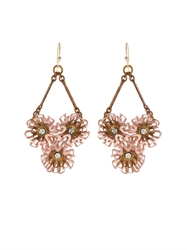 Lulu Frost Vivien Peony Drop Earrings