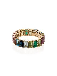 Shay Rainbow Eternity 18Kt Gold Ring Pink