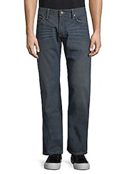 Robin's Jean Whiskered Cotton Jeans Dark