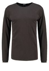Only And Sons Onskarl Long Sleeved Top Raven Dark Grey