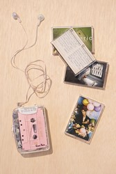 Urban Outfitters Clear Cassette Player
