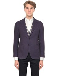 Tagliatore Textured Cotton Blend Jacket